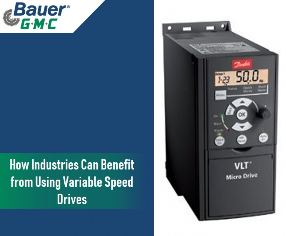 How Industries Can Benefit from Using Variable Speed Drives