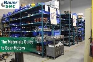 The Materials Guide to Gear Motors